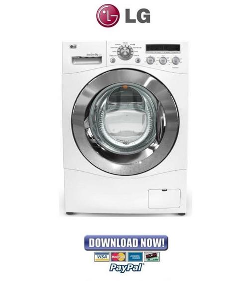 lg washing machine operating manual