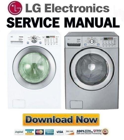 Pay for LG WM2077CW Service Manual & Repair Guide