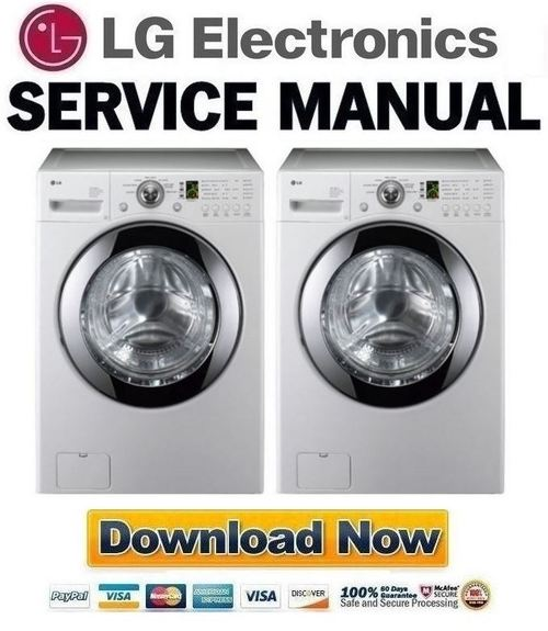 lg wm2101h wm2101hw service manual repair guide download manual rh tradebit com LG Washer WM2101HW Parts LG Washer