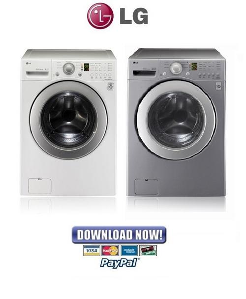Pay for LG WM2240C WM2240CW WM2240CS Service Manual & Repair Guide