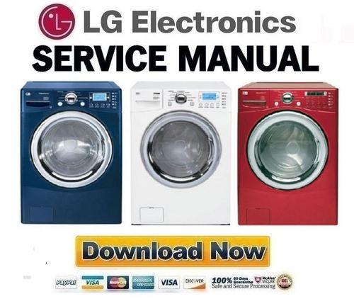 lg wm2688h wm2688hnm wm2688hwm service manual repair guide down rh tradebit com wm2688hwm owners manual LG Tromm Washer WM2688HWM Steam