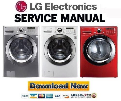 Lg Wm3360h Wm3360hvca Wm3360hwca Wm3360hrca Service Manual  U0026 Repair