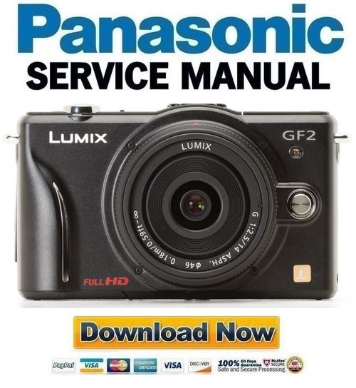 panasonic lumix dmc gf2 service manual repair guide download ma rh tradebit com panasonic gf2 manual lumix dmc-gf2 manual