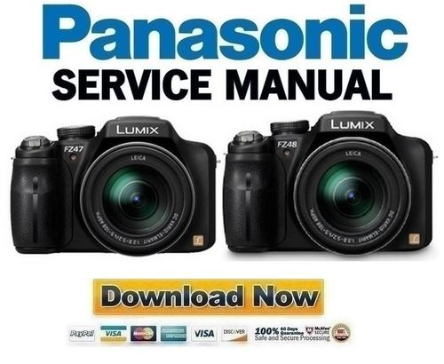 panasonic lumix dmc fz47 fz48 service manual repair guide downl rh tradebit com panasonic lumix dmc fz18 manual panasonic lumix dmc-fz48 manual pdf