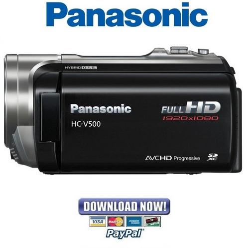 Panasonic hc v500 hd camcorder manual by bridget blaine issuu.