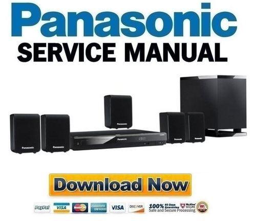 Panasonic Sc Xh50 Xh10 Service Manual Repair Guide Download M