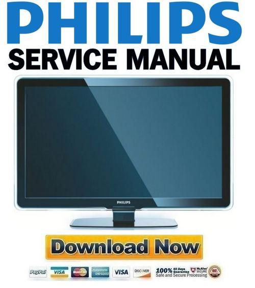 Philips 37pfl7603 Service Manual  U0026 Repair Guide