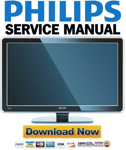 lcd tv service manual free download pdf