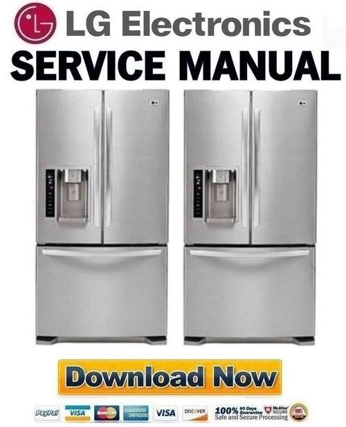lg lfx25976st service manual repair guide download. Black Bedroom Furniture Sets. Home Design Ideas