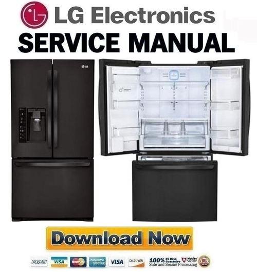 lg lfx31925sb service manual repair guide download. Black Bedroom Furniture Sets. Home Design Ideas