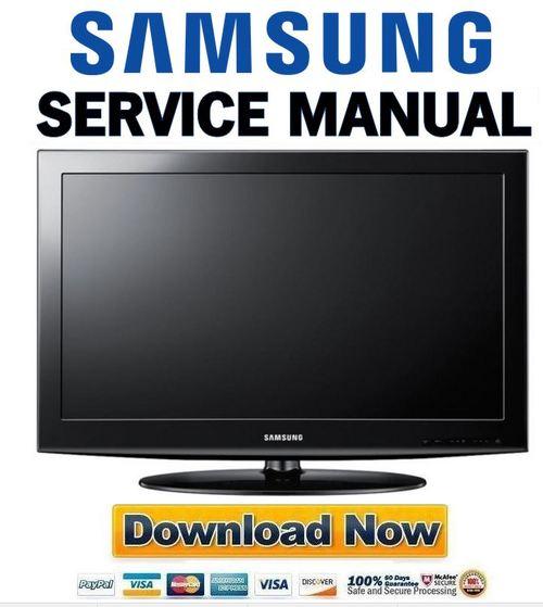 Samsung Ln32d403e2d Service Manual  U0026 Repair Guide