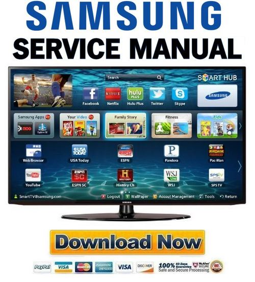Pay for Samsung UN32EH5300 UN42EH5300 UN46EH5300 Service Manual & Repair Guide