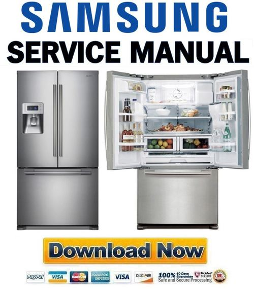 Pay For Samsung Rf268abrs Service Manual  U0026 Repair Guide
