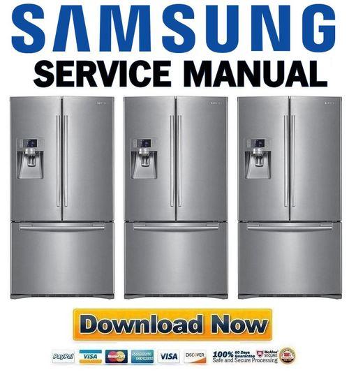 Samsung Rfg238aars Rfg238aa Service Manual  U0026 Repair Guide