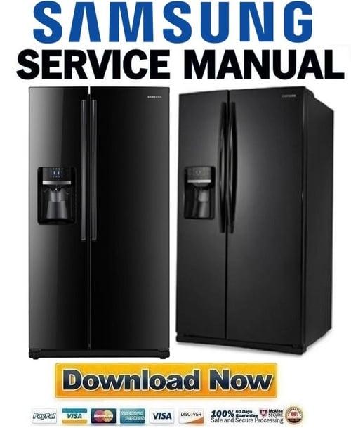 Samsung Rs261mdbp Service Manual  U0026 Repair Guide