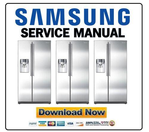 samsung rs263td rs263tdrs service manual  u0026 repair guide
