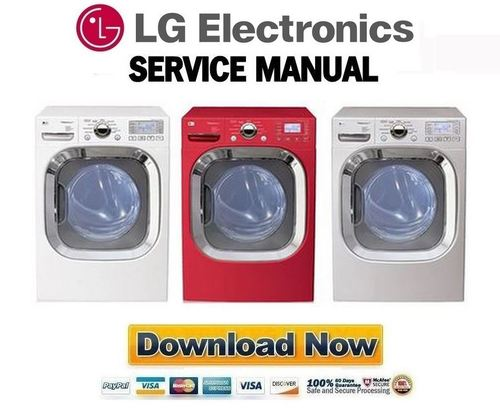 lg dlgx3002w dlgx3002r dlgx3002p service manual repair. Black Bedroom Furniture Sets. Home Design Ideas
