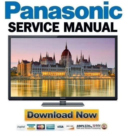 panasonic tc p55st50 service manual repair guide download manua rh tradebit com panasonic tc p55st30 manual Panasonic Kx NS300