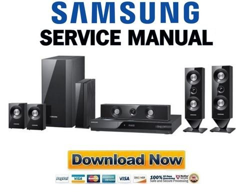 Pay for Samsung HT-C6900W Service Manual & Repair Guide