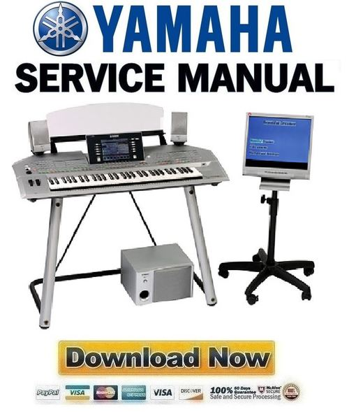 Pay for Yamaha TYROS2 + TRS-MS02 Reparaturanleitung