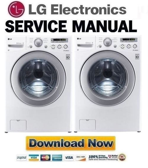 Lg Wm2250cw Service Manual Amp Repair Guide Download