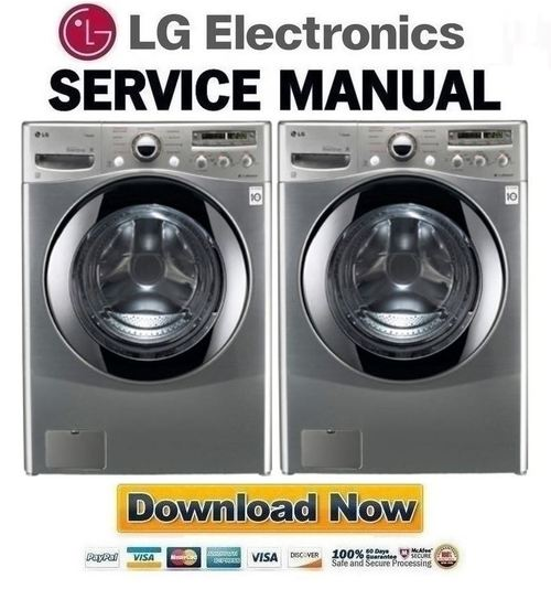 LG WM2655HVA Service Manual amp Repair Guide Download