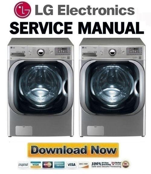 lg fuzzy logic washing machine repair manual