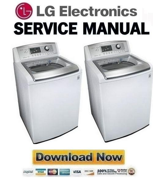Lg Wt5170hw Service Manual  U0026 Repair Guide
