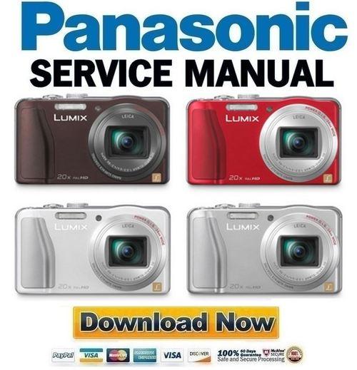 panasonic lumix dmc tz27 tz30 tz31 zs19 zs20 service manual repai rh tradebit com panasonic lumix dmc-zs20 owners manual for advanced features Panasonic Technical Support