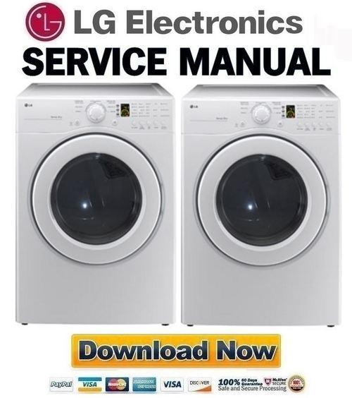lg dle2140w service manual  u0026 repair guide
