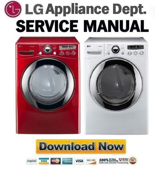 lg dlex2650r dlex2650w service manual repair guide. Black Bedroom Furniture Sets. Home Design Ideas