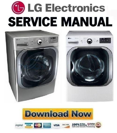 Lg Dlex8000v Dlex8000w Service Manual  U0026 Repair Guide