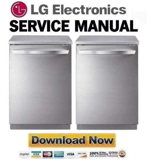 lg dishwasher model ldf6920st manual free owners manual u2022 rh wordworksbysea com LG Parts LDF7811ST LG Dishwasher Repair Manual