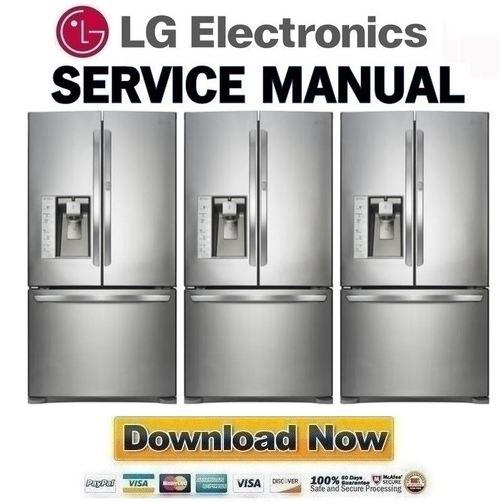 Lg Lfx31945st Service Manual  U0026 Repair Guide