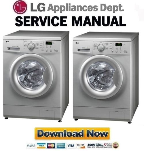 lg f1492td service manual repair guide download manuals. Black Bedroom Furniture Sets. Home Design Ideas