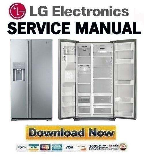 lg gs5163avjv service manual repair guide download. Black Bedroom Furniture Sets. Home Design Ideas
