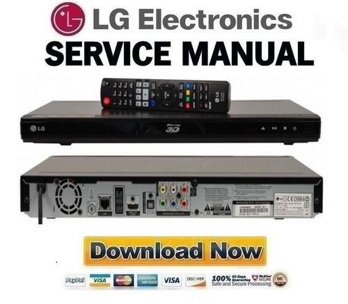 lg bd670n service manual repair guide pligg. Black Bedroom Furniture Sets. Home Design Ideas