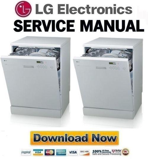lg ld 2120wh service manual repair guide download manuals t rh tradebit com lg dishwasher ldf7932st repair manual lg dishwasher service repair manual