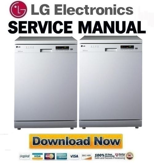 lg ld1452wfen2 service manual repair guide download manuals rh tradebit com LG Dishwasher Model LDS4821ST Recall LG Dishwasher LDS5811ST Parts