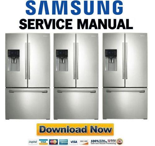 samsung rf263beaesr rf263beaesg service manual repair