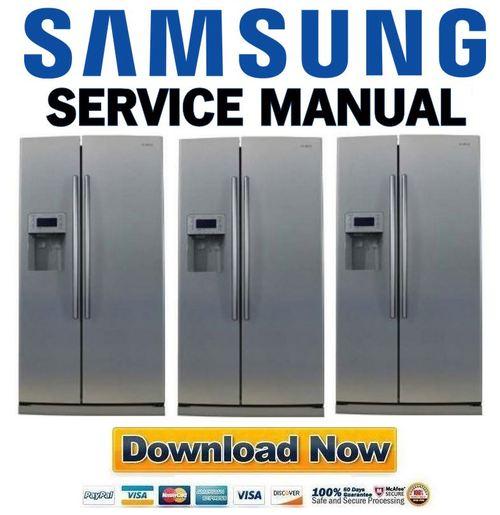 Samsung Rs275acpn Service Manual  U0026 Repair Guide