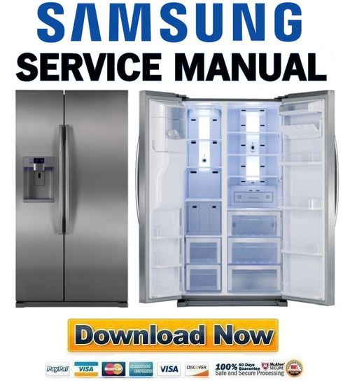 samsung rsg257aars service manual repair guide download manuals