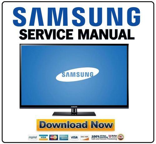 samsung pn60e530 pn60e530a3f pn60e530a3fxza service manual and repa rh tradebit com Samsung 64 Inch Plasma TV Samsung 64 Inch Plasma TV