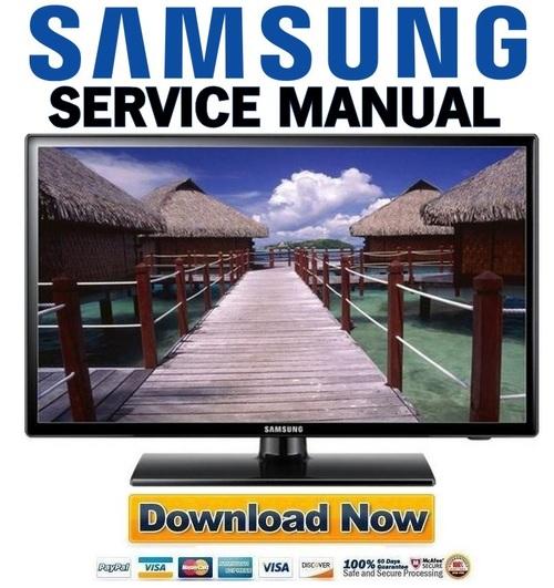 samsung led tv service manual