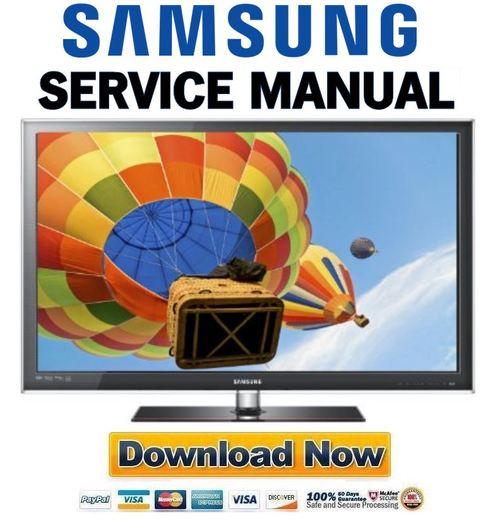 samsung un60c6300 un55c6300 un46c6300 un40c6300 service manual do rh tradebit com