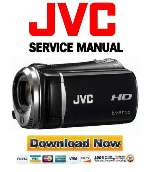jvc everio gz mg135aa manual