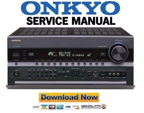 onkyo tx nr3008 av receiver service manual download