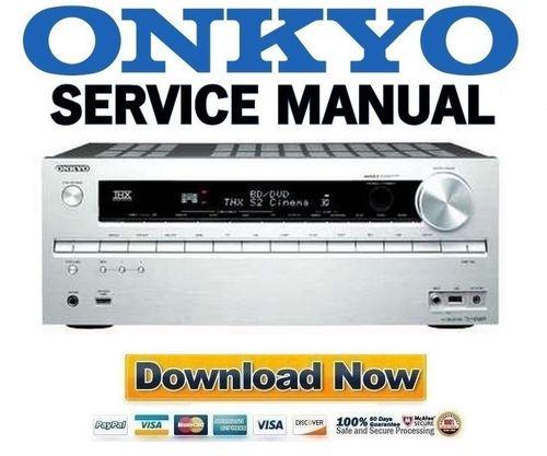 onkyo tx nr609 service manual and repair guide download manuals rh tradebit com 12H802 Manual 12H802 Manual