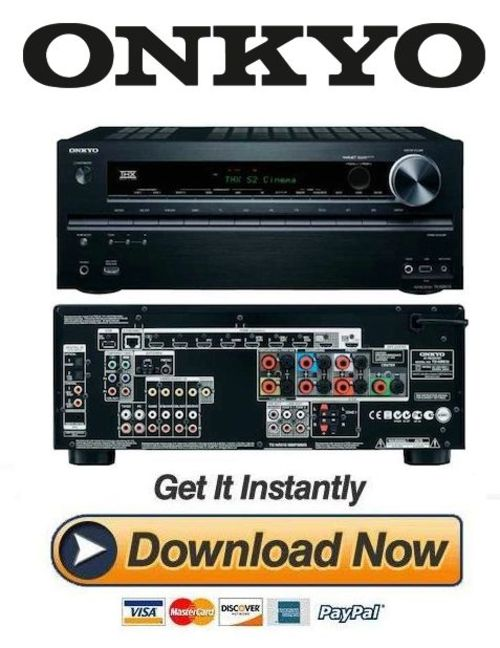 onkyo tx nr616 service manual and repair guide download manuals rh tradebit com onkyo receiver manual setup onkyo receiver manual ht-r590