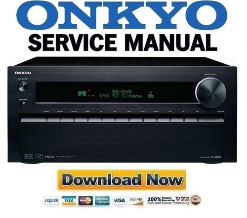 onkyo tx nr809 service manual and repair guide download manuals rh tradebit com Onkyo TX 8511 Manual Onkyo TX5